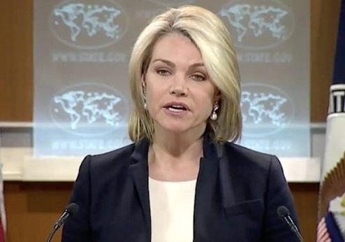 حمایت سخنگوی وزارت خارجه آمریکا از صهیونیستها