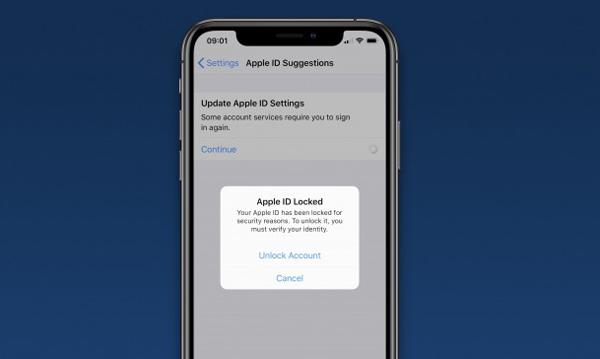 اپل آیدی برخی از کاربران اپل با مشکل مواجه شده است