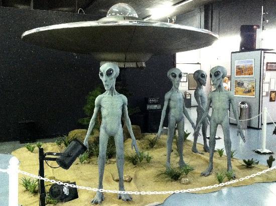 کدام موزه وجود آدم فضاییها را ثابت میکند؟