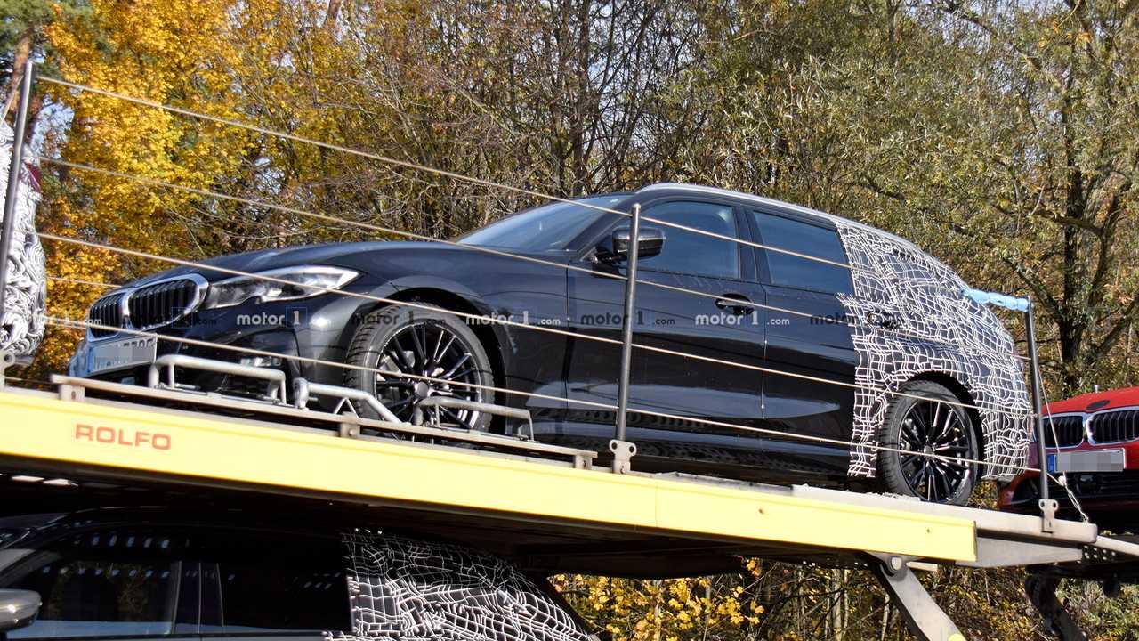 اطلاعات جدیدی از اتومبیل BMW 3 Series واگندار فاش شد +تصاویر