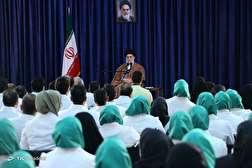 باشگاه خبرنگاران - دیدار مدالآوران ایران در بازیهای پاراآسیایی جاکارتا با رهبر انقلاب اسلامی