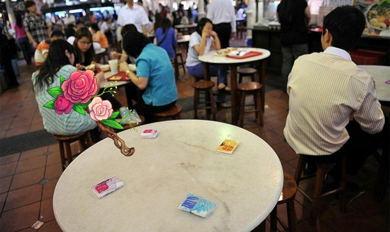 جالب ترین شیوه رزرو میز در رستوران+ عکس
