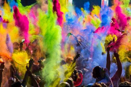 رایج شدن جشن مرگبار رنگ با چاشنی عارضه به طبیعت!