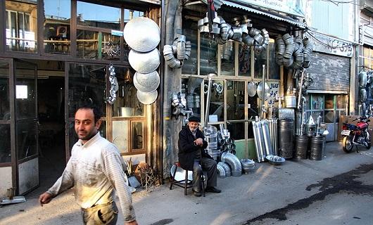 آخرین بازمانده هنر حلبیساز همدان