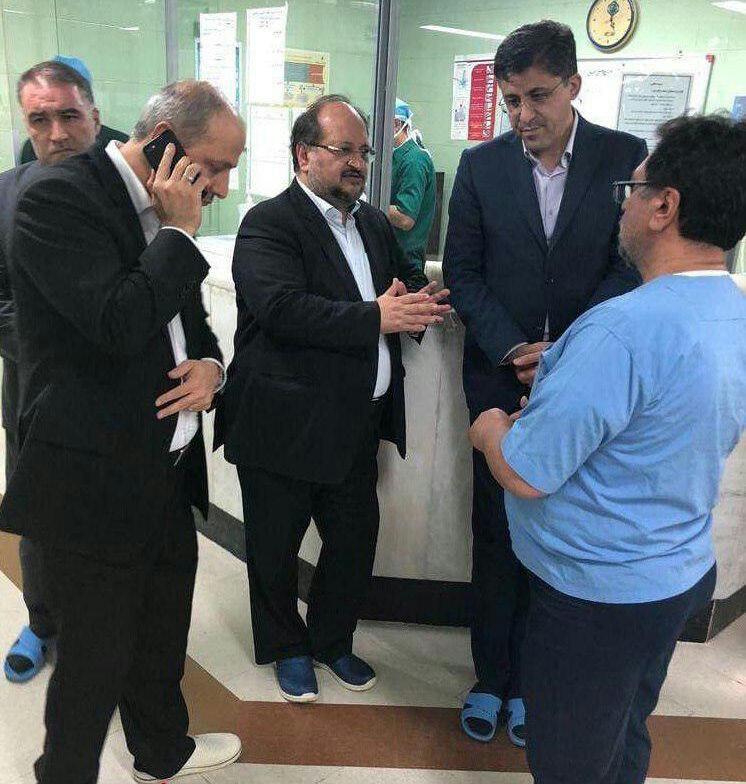 تصادف معاونان وزیر کار/ نوربخش و تاج الدین فوت کردند