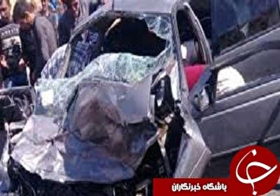 باشگاه خبرنگاران - مصدومیت ۶ نفربراثر تصادف دو خودرو جاده ازنا دره تخت