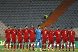 دیدار تیم های فوتبال ایران و ترینیداد و توباگو