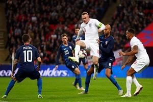 نتایج بازیهای دوستانه ملی پایان راه رونی در تیم ملی انگلیس با غلبه بر آمریکا/پیروزی قاطع آلمان مقابل روسیه