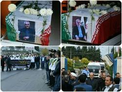 مراسم ادای احترام و بدرقه مدیرکل و معاون سازمان تامین اجتماعی کشور در گلستان + تصاویر