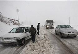 خلیج فارس همچنان مواج است/ کُندی ترافیک جادهای در مناطق کوهستانی به دلیل بارش برف