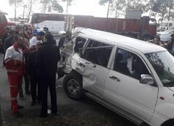 علت تصادف خودروی همراهان وزیر کار مشخص شد