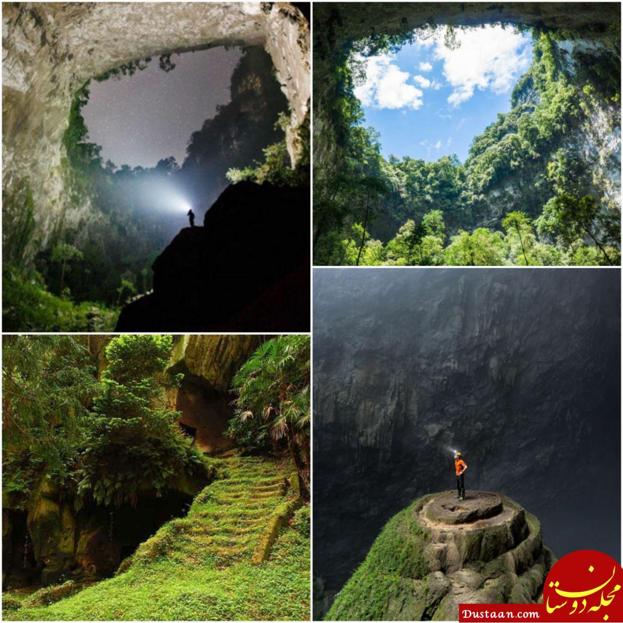 تصویری فوق العاده زیبا از بزرگترین غار دنیا