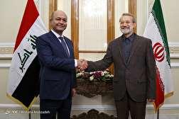باشگاه خبرنگاران - دیدار رئیس جمهور عراق با رئیس مجلس شورای اسلامی