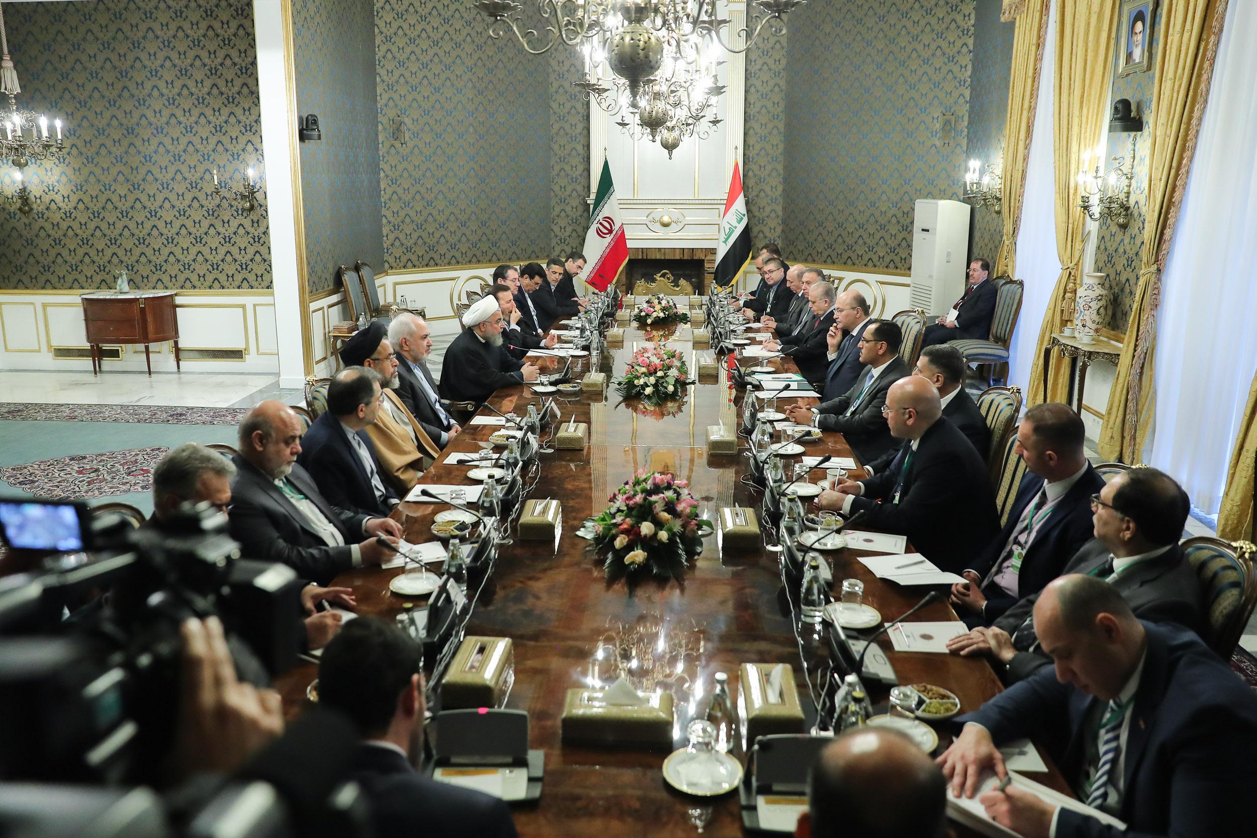 حفظ روابط با ایران اولویت نخست برهم صالح