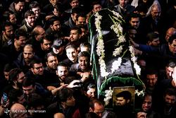 تشییع پیکر جهادگر امیرمحمد اژدری