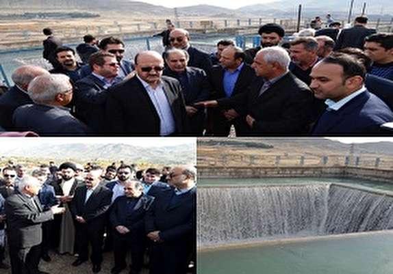 باشگاه خبرنگاران - بازدید رئیس صندوق توسعه ملی از طرح انتقال آب سدطالقان به قزوین