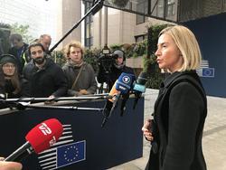 موگرینی از اعلام زمان اجرای مکانیسم ویژه مالی اروپا با ایران طفره رفت