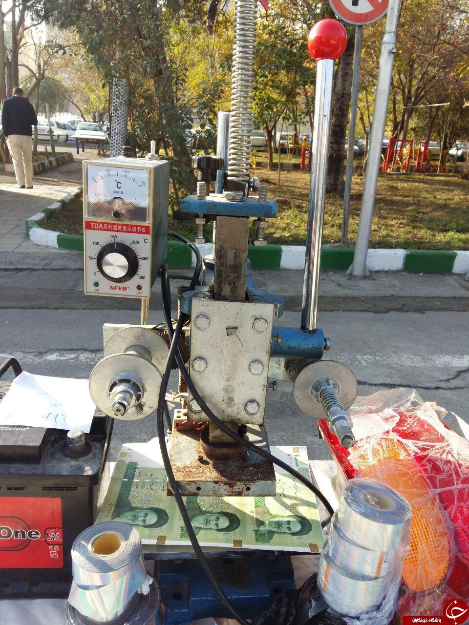 دستگیری سارقان خودرو در پایتخت/ جعل چک و اسکناس تقلبی توسط سارقان
