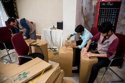 بستهبندی ۲۱۰۰ سبد کالا برای توزیع در نیکشهر سیستان و بلوچستان