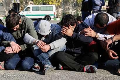 باشگاه خبرنگاران -پنجمین طرح دستگیری سارقان سطح شهر تهران