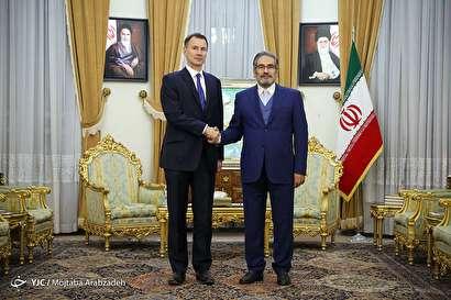 باشگاه خبرنگاران -دیدار وزیر خارجه انگلیس و دبیر شورای عالی امنیت ملی