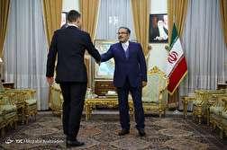 باشگاه خبرنگاران - دیدار وزیر خارجه انگلیس و دبیر شورای عالی امنیت ملی
