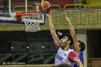 باشگاه خبرنگاران -تمرین تیم ملی بسکتبال ایران