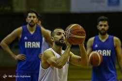 باشگاه خبرنگاران - تمرین تیم ملی بسکتبال ایران