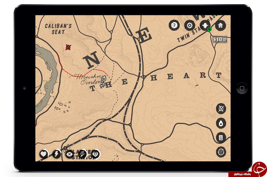 اپلیکیشن همراه Red Dead Redemption 2 همزمان با عرضه بازی قابل نصب خواهد بود