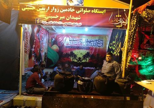 شرقیترین موکب اربعین در میرجاوه چشمانتظار زائران پاکستانی