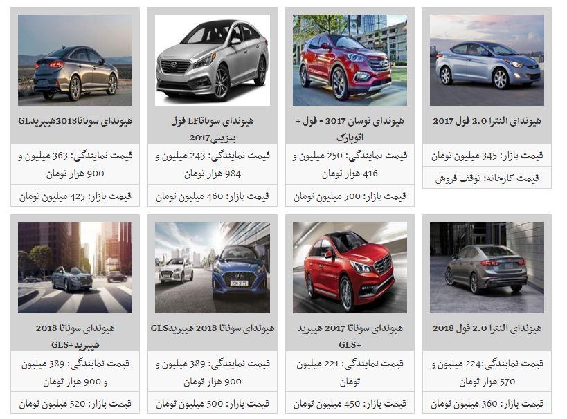 خودروهای کرهای در بازار تهران چند؟
