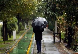 فعالیت سامانه بارشی در هرمزگان/بارش باران در شرق استان