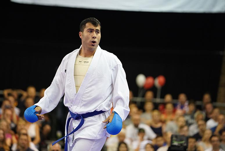 باشگاه خبرنگاران -گنجزاده: توانستیم از نام کاراته ایران در مسابقات جهانی دفاع کنیم