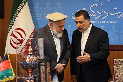 دیدار وزرای دادگستری ایران و افغانستان