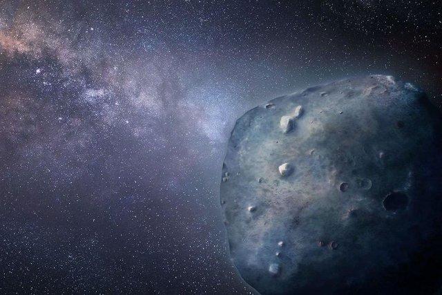 سیارک عجیب آبی رنگ را ببینید