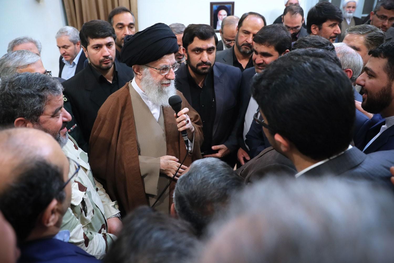 مسئولان سازمان پدافند غیرعامل با رهبر معظم انقلاب دیدار کردند