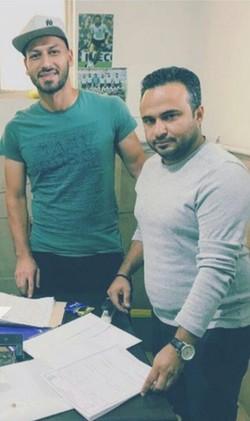 پیوستن بازیکن شهروند به ارژن شیراز