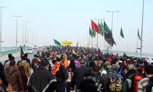 روایت خبرنگار فرانسوی از حضور میلیونی زائران ایرانی در راهپیمایی اربعین
