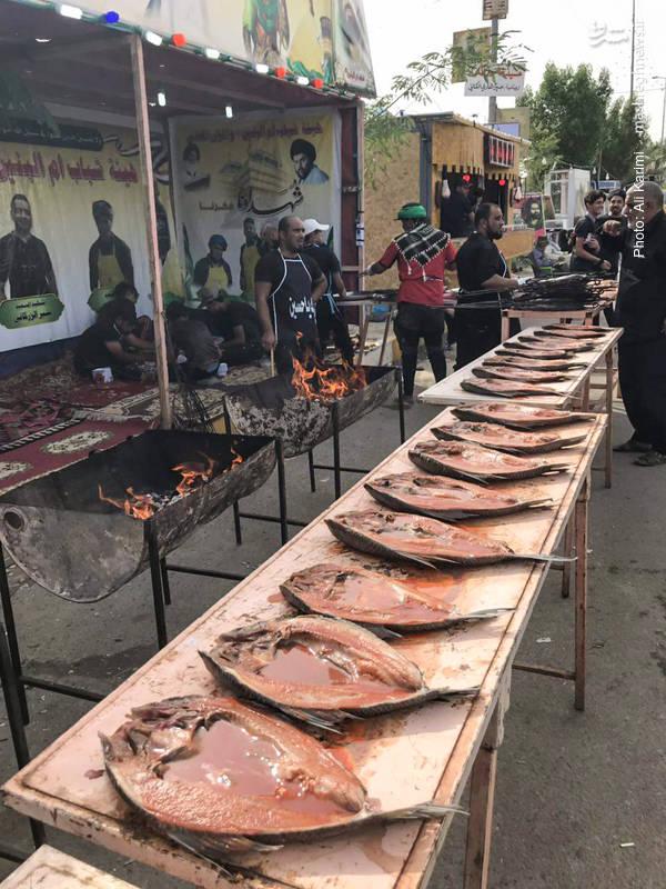 سنگ تمام عراقیها برای زائران حسینی به ورایت تصویر