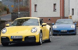 تصاویر نسل 2020 اتومبیل Porsche 911 فاش شد +عکس
