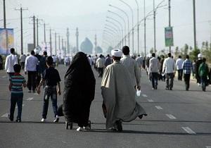 Image result for برگزاری پیاده روی «جاماندگان از اربعین» در اراک