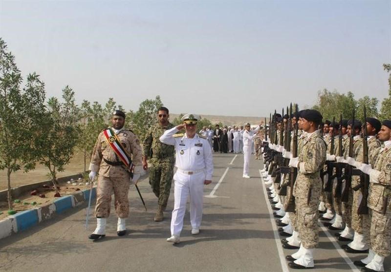 بازدید فرمانده نیروی دریایی ارتش از مرز شلمچه