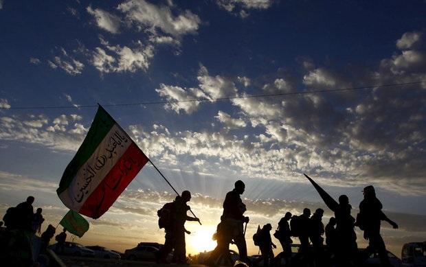 آغاز مراسم جاماندگان راهپیمایی اربعین در تهران+تصاویر