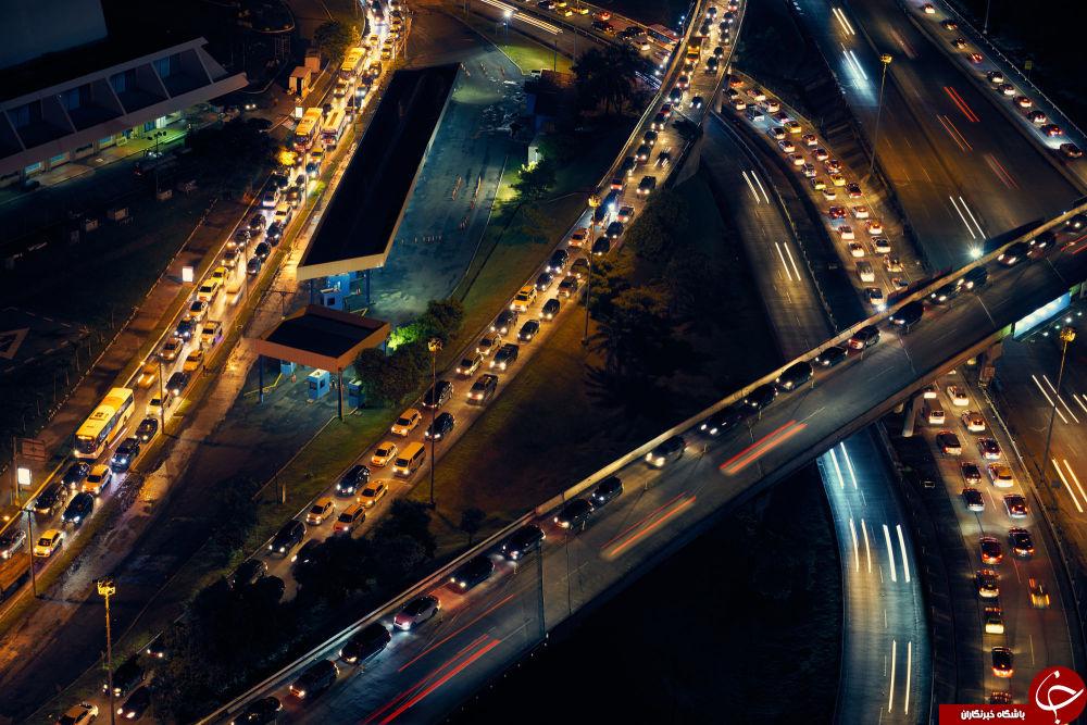تصاویری تماشایی از شب در کشورهای گوناگون