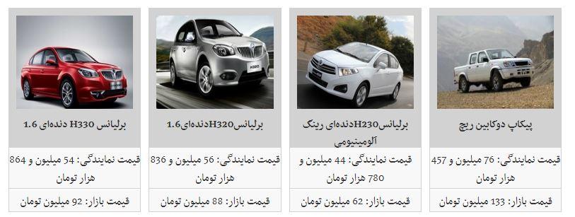 جدیدترین قیمت محصولات پارس خودرو + جدول