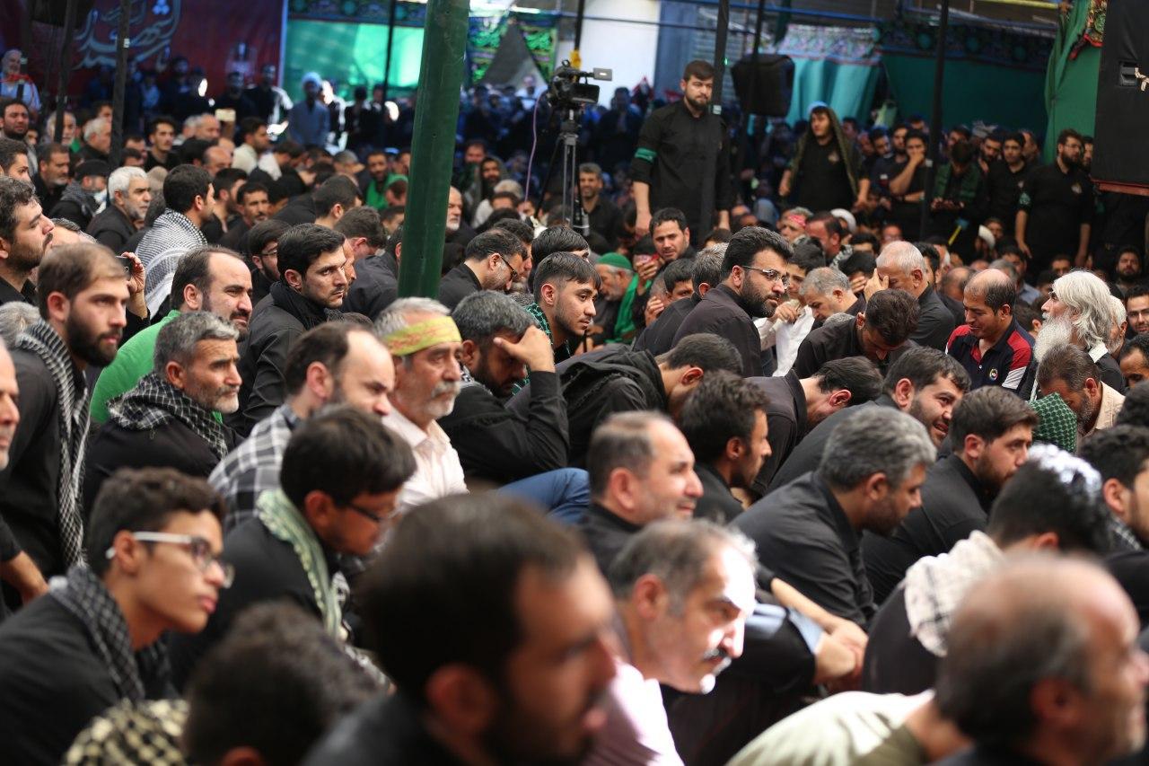 گزارش تصویری مداحان اهل بیت (ع) در اربعین حسینی