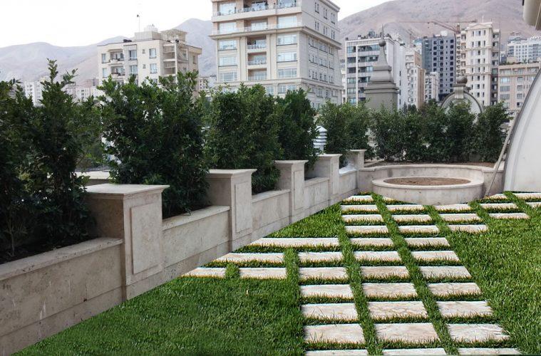 بام باغ، روشی برای لذت بردن از طبیعت و فضای سبز در زندگی آپارتمانی