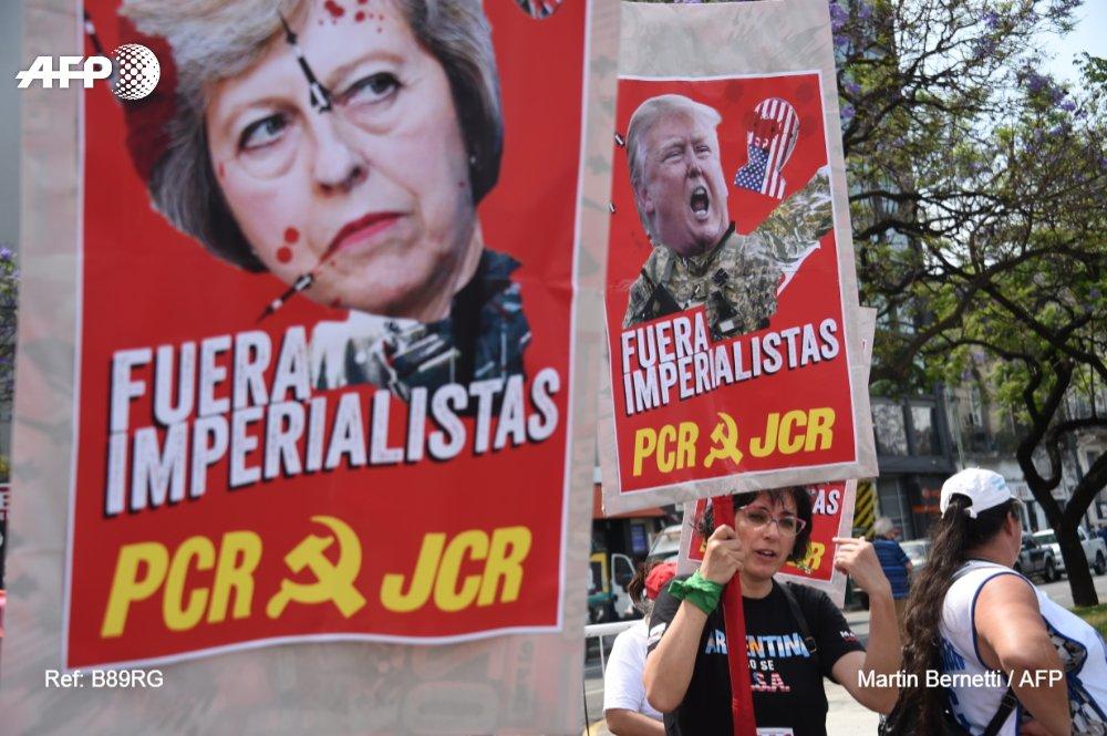 برگزاری تظاهرات ضد ترامپ در آرژانتین همزمان با نشست گروه ۲۰
