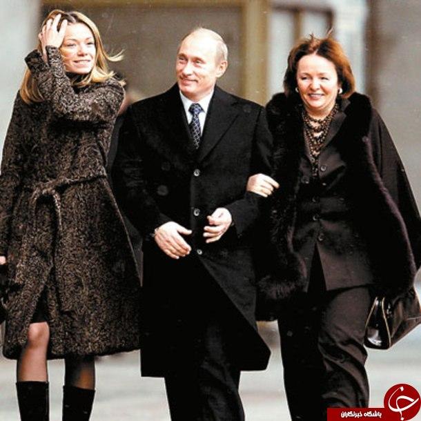دختران رئیس جمهور روسیه کجا زندگی می کنند؟+تصاویر