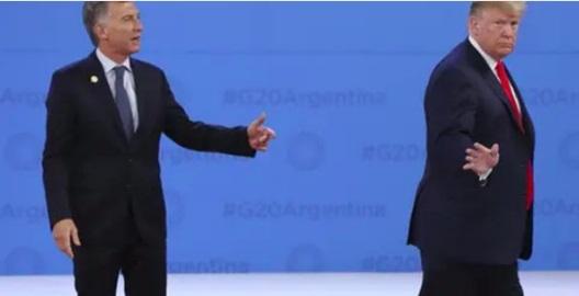 حرکت عجیب ترامپ در دیدار با رئیسجمهور آرژانتین